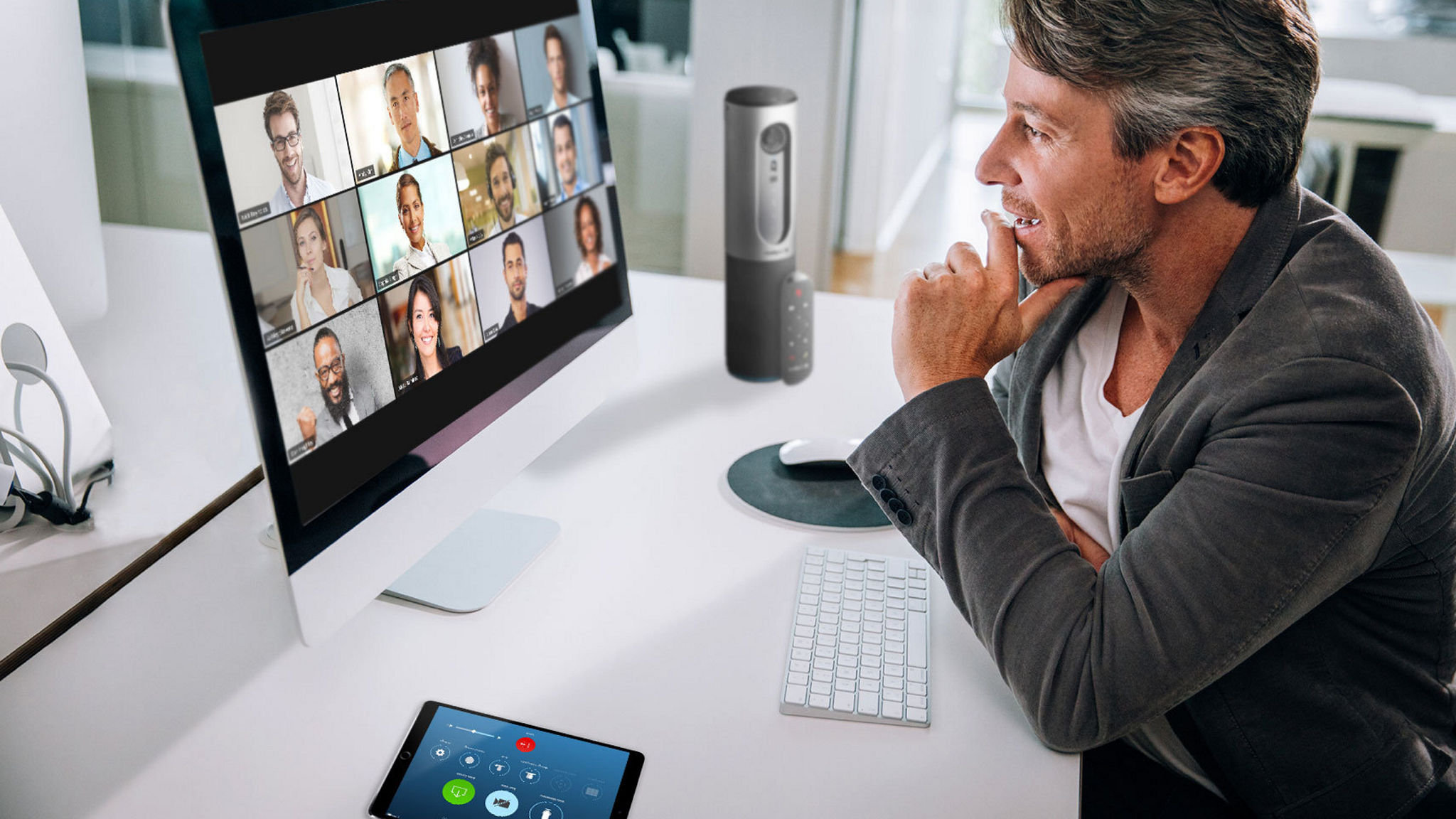 Zoom Video Conferencing from press office