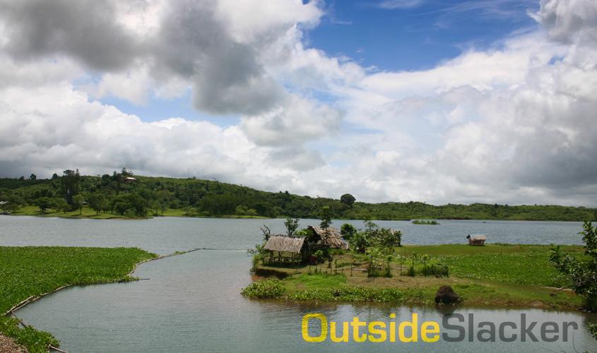 Caliraya Lake on a sunny day