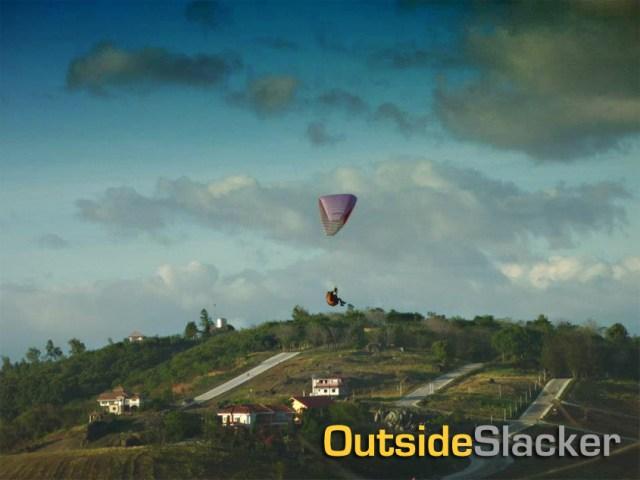 Paraglider in Binangonan