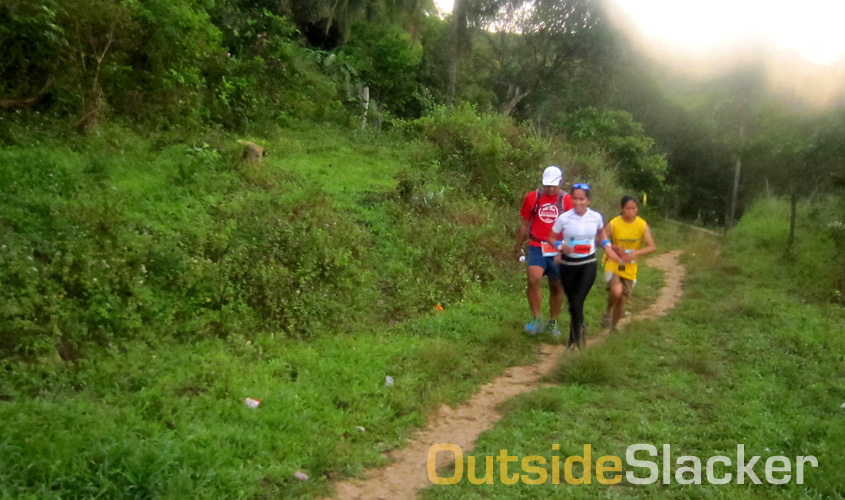 Trail runners pounding the dirt during the Love a Tree Ultramarathon