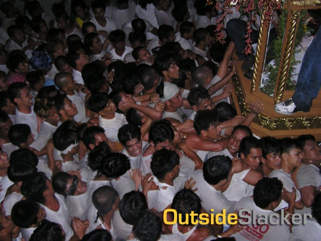 Giwang giwang or the Procession of the Dead Christ
