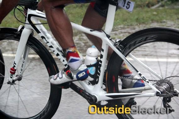 Le Tour de Filipinas Rider in the Rain