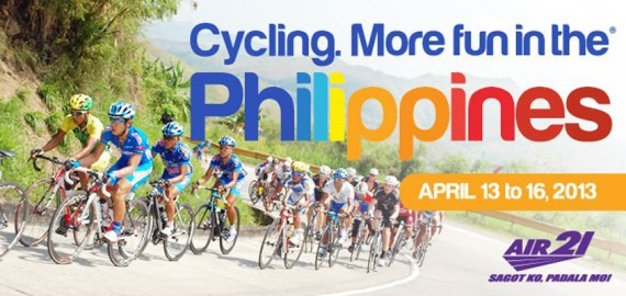 The most prestigious bike race in the Philippines
