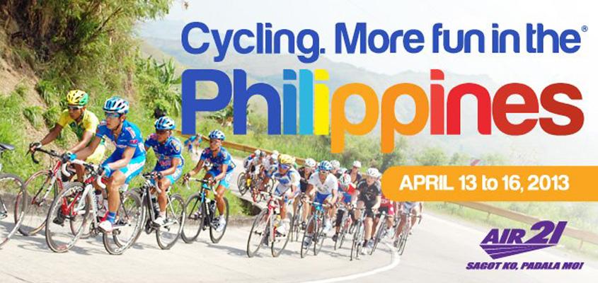 The most prestigious bike race in the Philippines