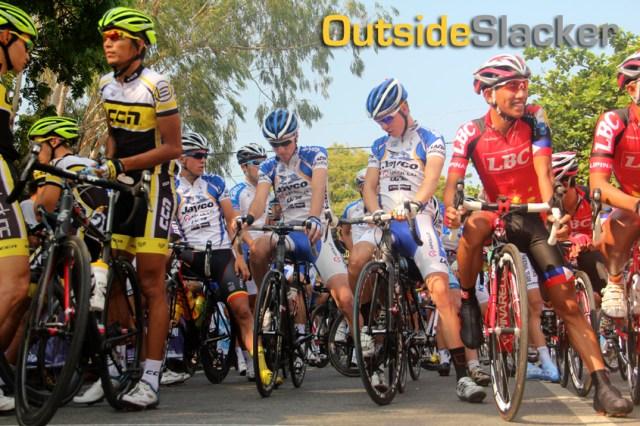 Le Tour de Filipinas cyclists