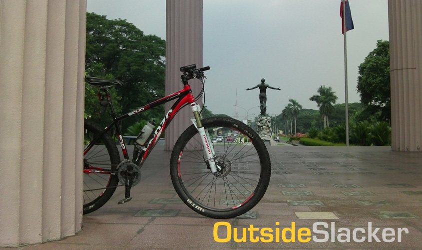 Bike and U.P Oblation