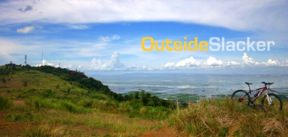 Bike in the hills of Binangonan-Angono