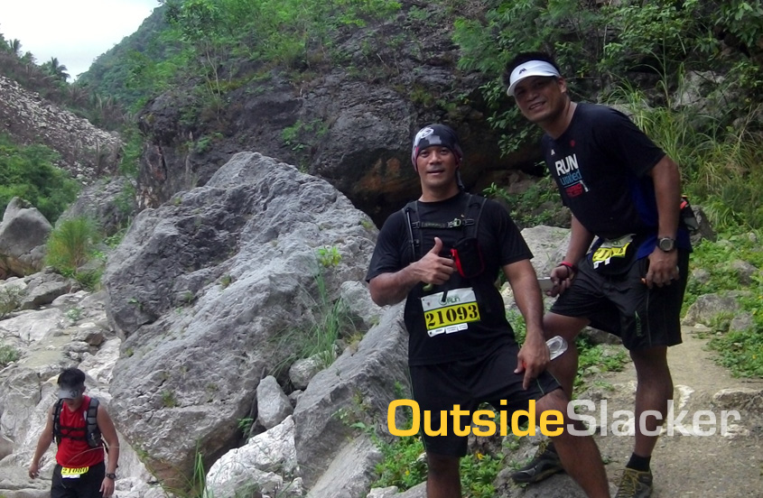 Runners pose for a shot in Nature's Trail Discovery Run 2013 (Leg 1)
