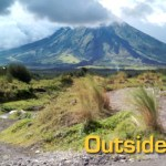 Biking in Mayon
