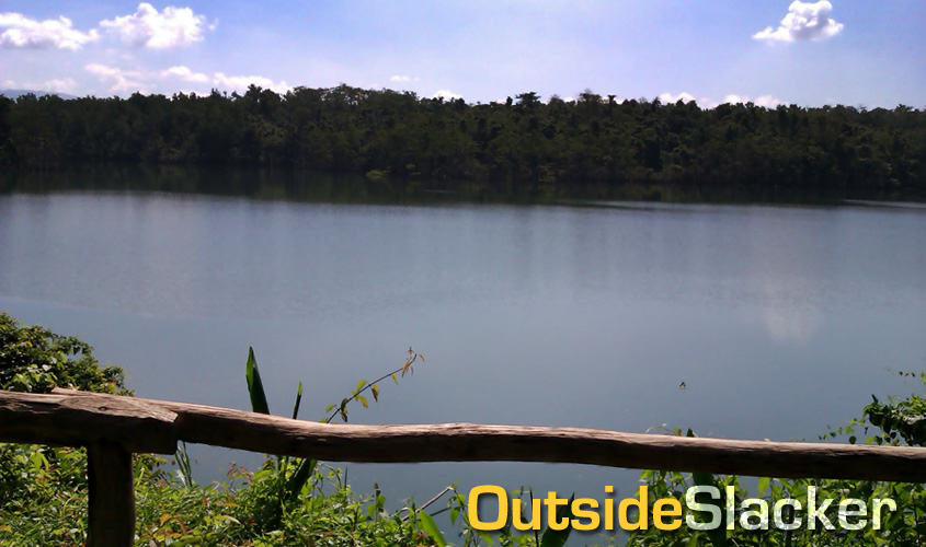 La Mesa Nature Reserve Lake