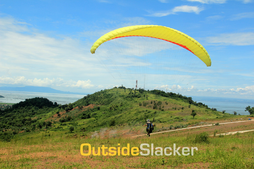 Paragliding in Antenna Hill