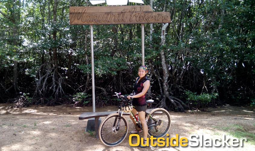Biking to Coron's Maquinit Hot Spring