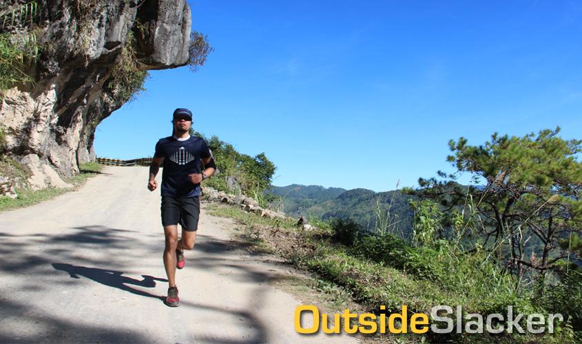Running in Sagada