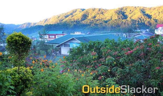 View from St. Joseph's in Sagada