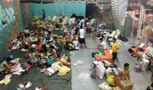 Power Up Gym's Relief Operations for Yolanda Victims