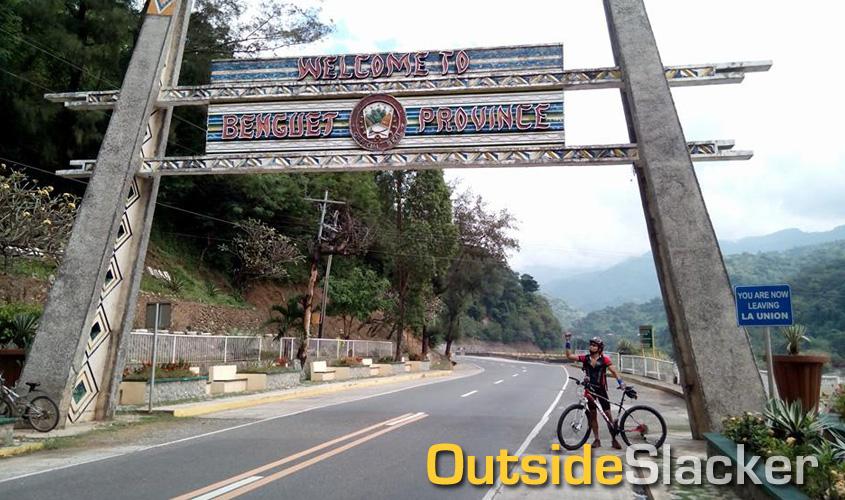 Bike Ride up Kennon Road