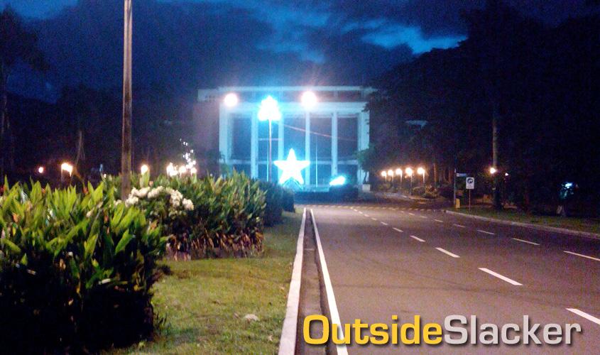 U.P. Diliman Campus In December