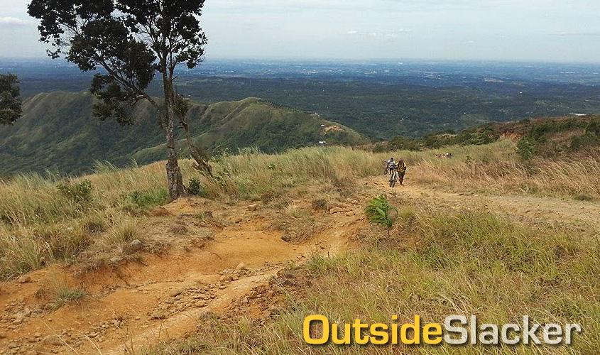Biking to Mt. Balagbag's Helipad