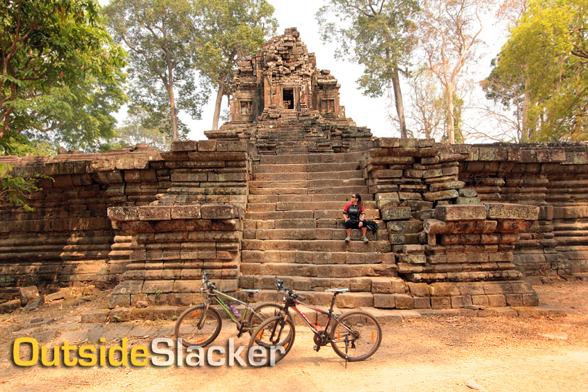 Biking in Cambodia's Temple Ruins