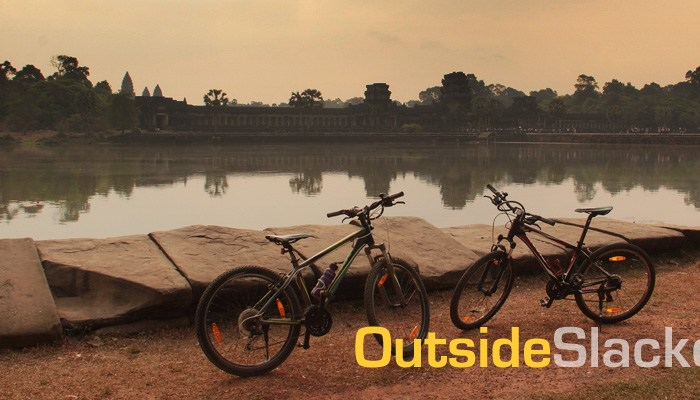 Biking in Angkor Wat Siem Reap