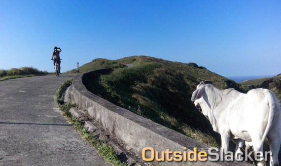 Selfie while Biking in Basco Batanes
