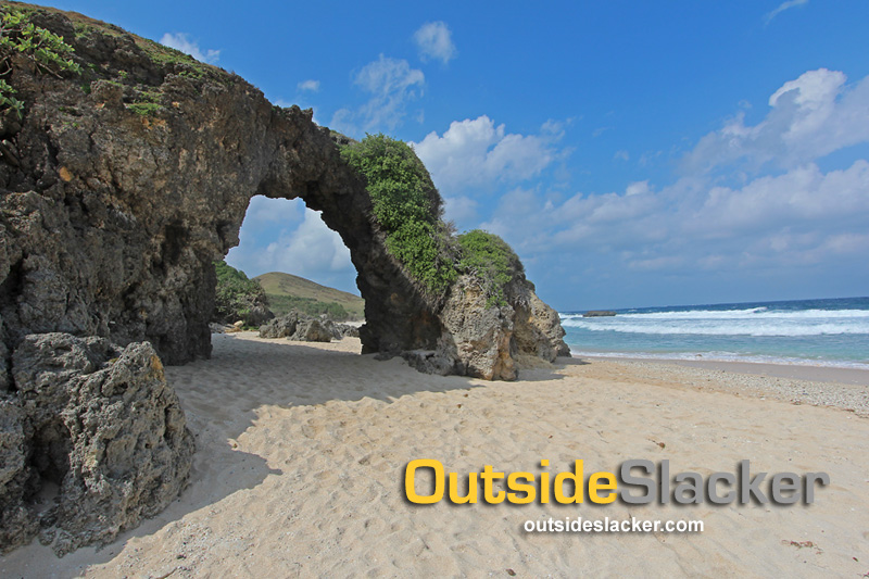Ahau Rock Arch at Nakabuang Beach in Sabtang Batanes