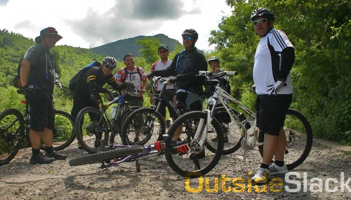 Biking in Talim Island