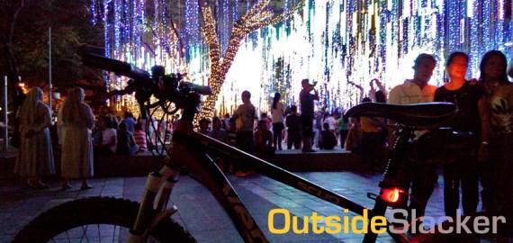 Ayala Triangle Christmas Lights