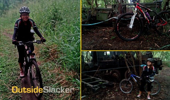 Biking in Camp Aguinaldo