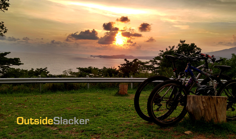 Biking Corregidor Sunset