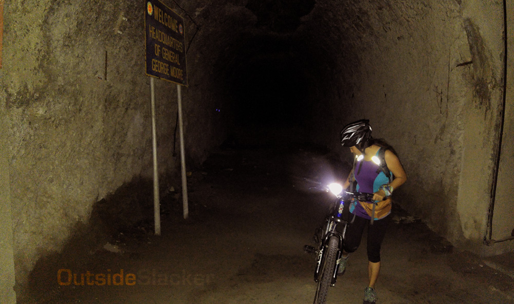 Biking Malinta Tunnel