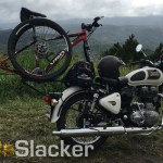 Motorcycle Bike Rack for the Royal Enfield