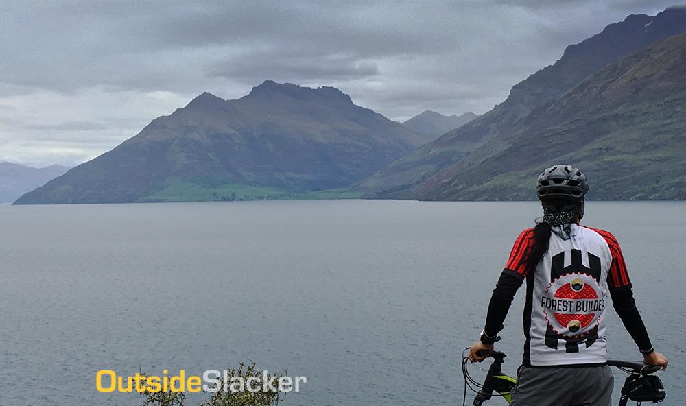 Biking in Queenstown, New Zealand