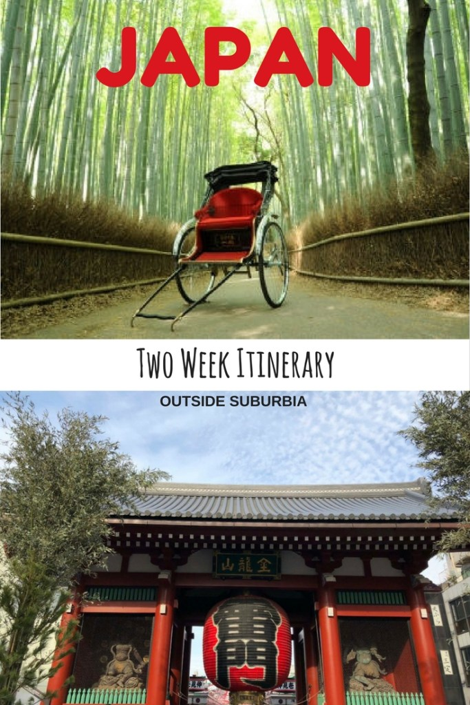 Two week Itinerary for seeing the Best of Japan
