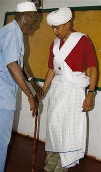Barack Obama Somali Muslim Garb