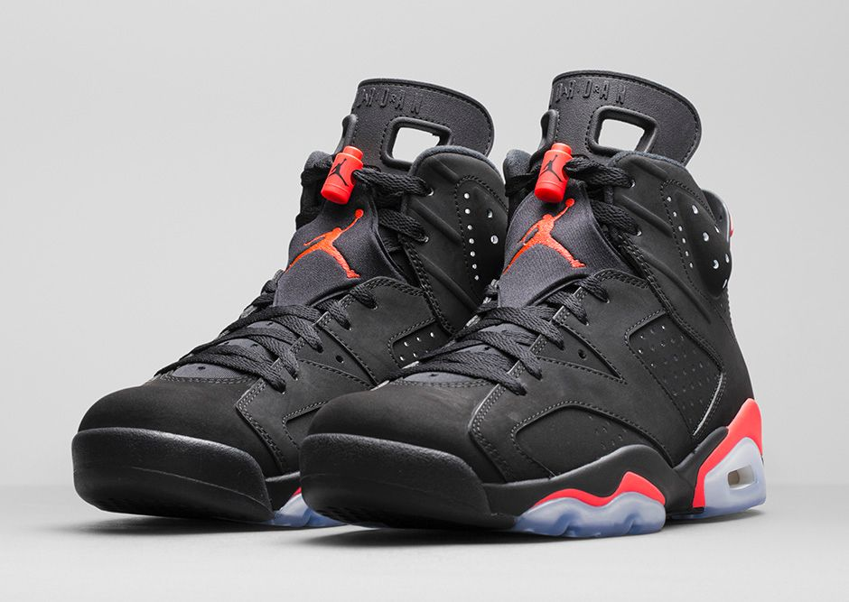 promo code 28b2e da333 AIR JORDAN VI BLACK/INFRARED: SOME MORE REFLECTION - Outsons