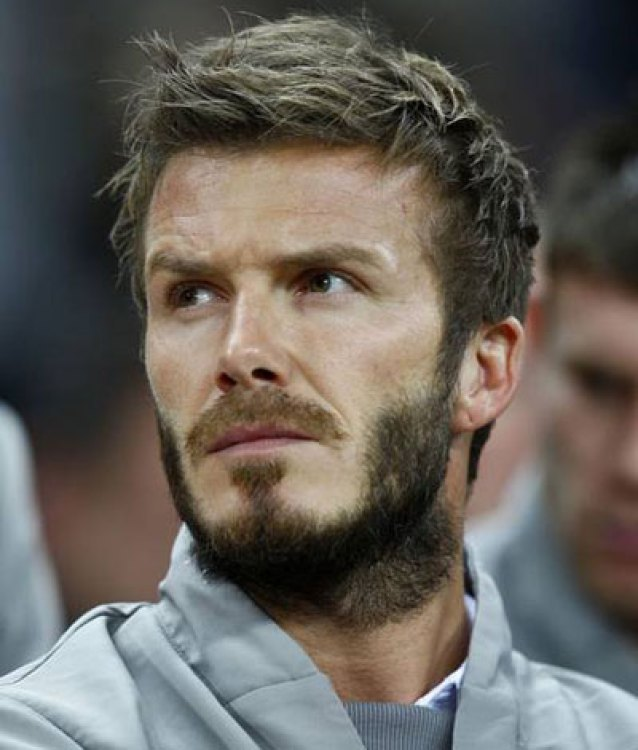 David Beckham Textured Haircut