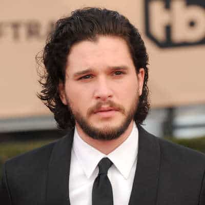 Kit Harrington Medium Hair with amazing beard style