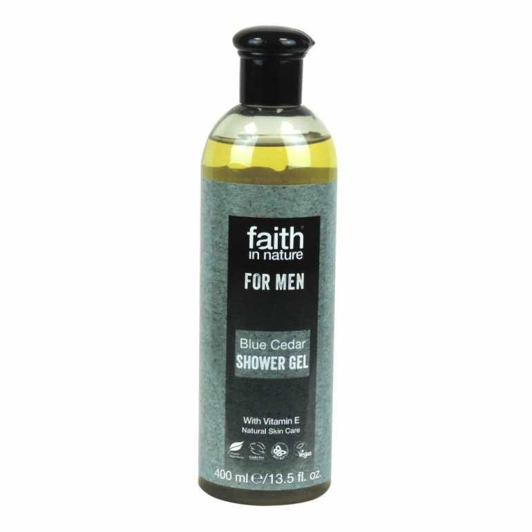 Faith in Nature for Men Blue Cedar Shower Gel
