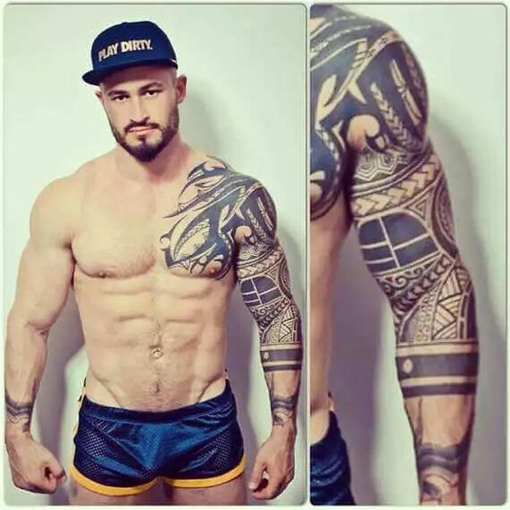 Stylish Tribal Sleeve