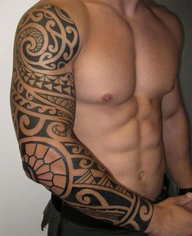 Cool Maori Tribal Sleeve