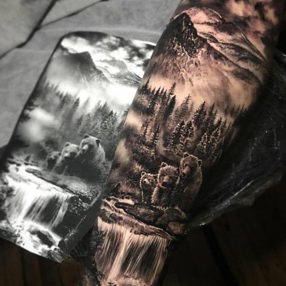 Forest Forearm Sleeve