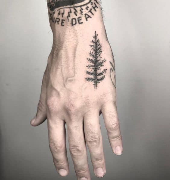 Tree Hand Tattoo