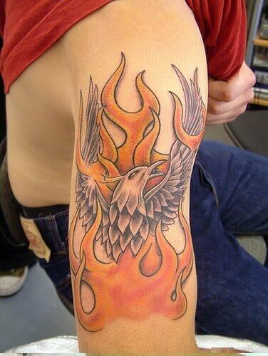 Phoenix Tattoo Sleeve