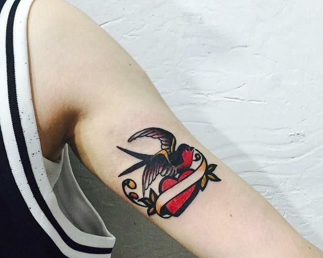 Sailor Jerry Bird Tattoo