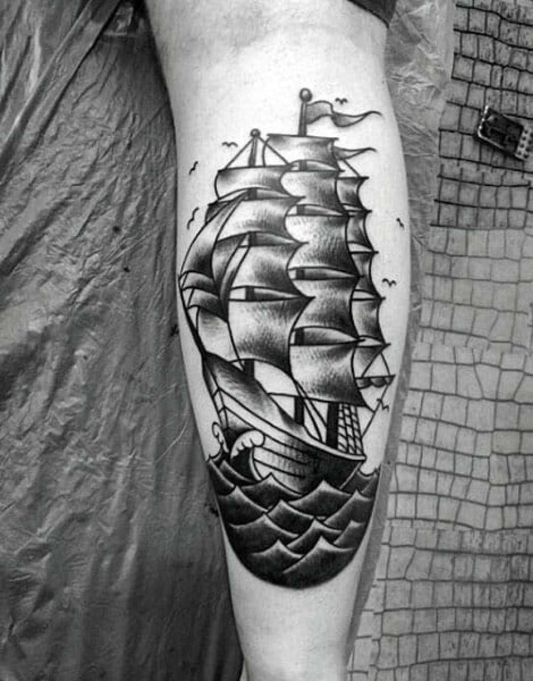 Vintage Arm Tattoo