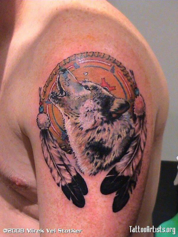 Amazing Wolf Tattoo
