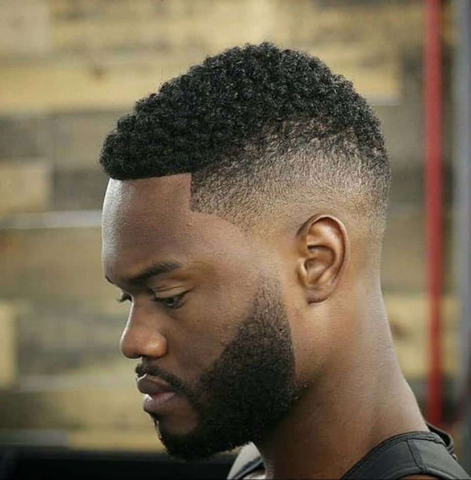 Number 2 with Low Fade & Beard