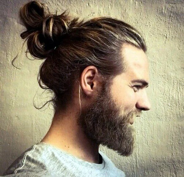 Long Hair & Thick Beard