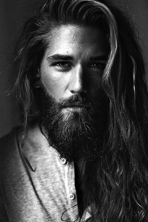 Long Hair & Beard